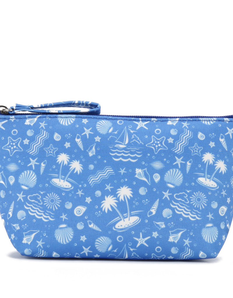 Everyday Hawaii EH Nylon Pouch Sml Ocean Blue