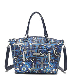 Happy Wahine Tote Hannah Golden Lavi Blue