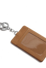 Happy Wahine Card Case April Golden Lavi Brown