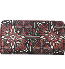 Happy Wahine Wallet Kaylee Golden Lavi Brown