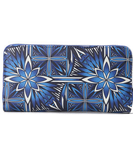 Happy Wahine Wallet Kaylee Golden Lavi Blue
