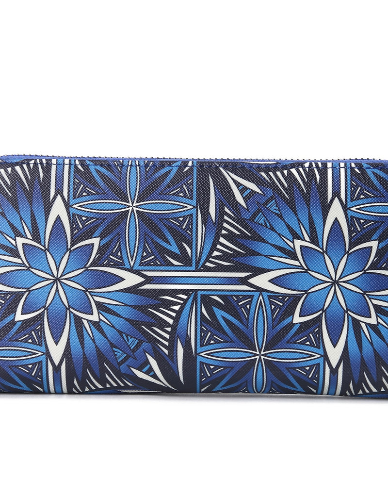 Happy Wahine Wallet Kaylee Golden Lavi Blue