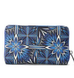 Happy Wahine Wallet Chloe Golden Lavi Blue