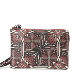 Happy Wahine Wristlet Judy Golden Lavi Brown