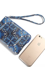 Happy Wahine Wristlet Judy Golden Lavi Blue