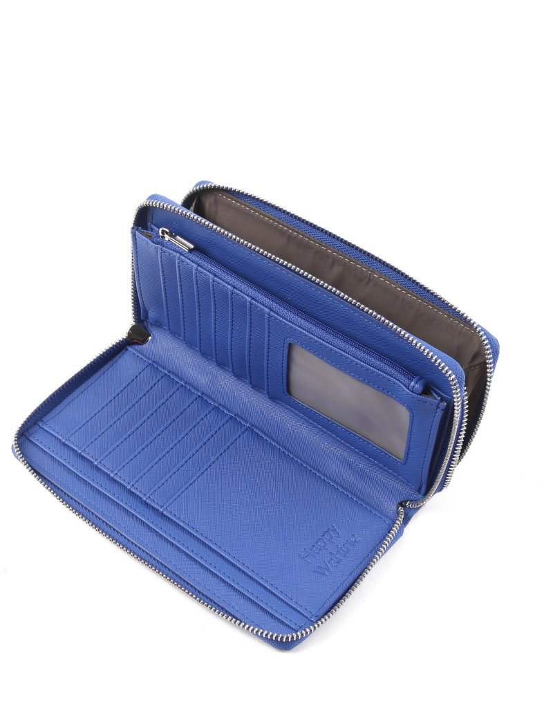Happy Wahine Wallet Allison Golden Lavi Blue