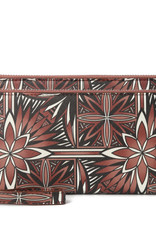 Happy Wahine Wallet Allison Golden Lavi Brown