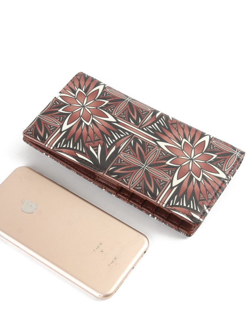 Happy Wahine Wallet Teyla Golden Lavi Brown