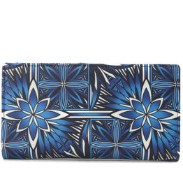 Happy Wahine Wallet Teyla Golden Lavi Blue