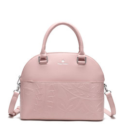 Happy Wahine Satchel Kristen Tapa Embossed Blush