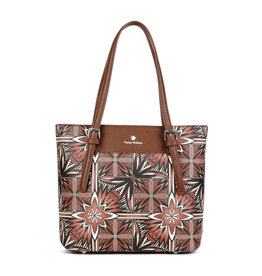 Happy Wahine Medium Tote Anny Golden Lavi Brown