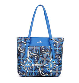 Happy Wahine Medium Tote Anny Golden Lavi Blue