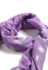 Everyday Hawaii Scarf Danielle Silver Dandelion Purple