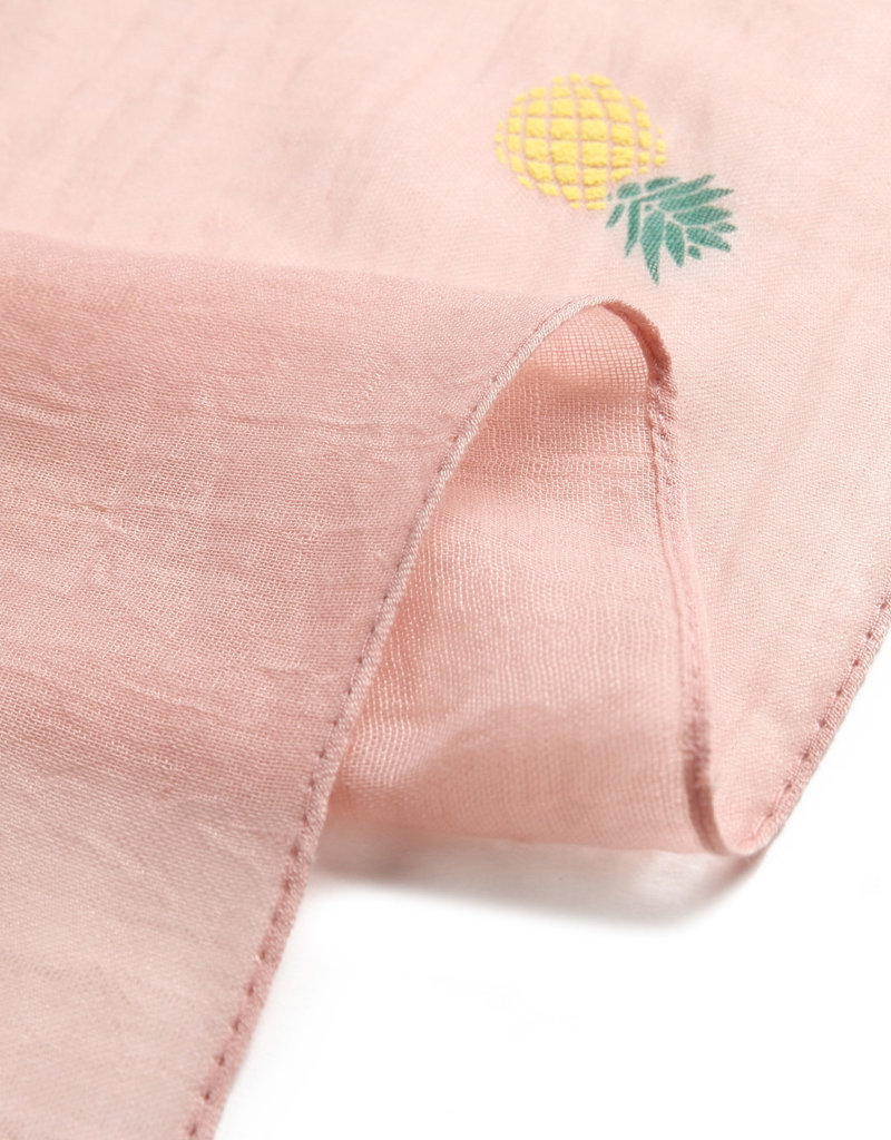 Everyday Hawaii Scarf Danielle Textured Pineapple Pink