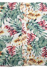 Everyday Hawaii Coverup Rainbow Palm Leaves Beige