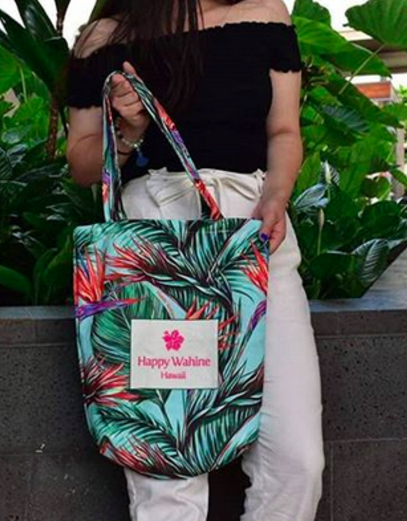 Everyday Hawaii Everyday HI Tote Bird of Paradise