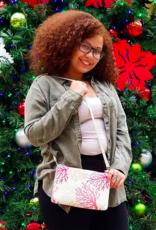 Happy Wahine Crossbody Marisa Coral Beige