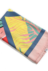 Everyday Hawaii Scarf Danielle Print Fashion Triangle