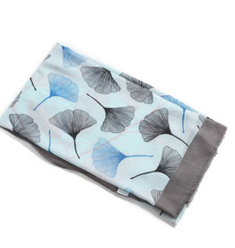 Everyday Hawaii Scarf Danielle Print Fan Blue