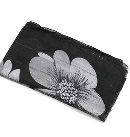 Everyday Hawaii Scarf Danielle Print Floral Black
