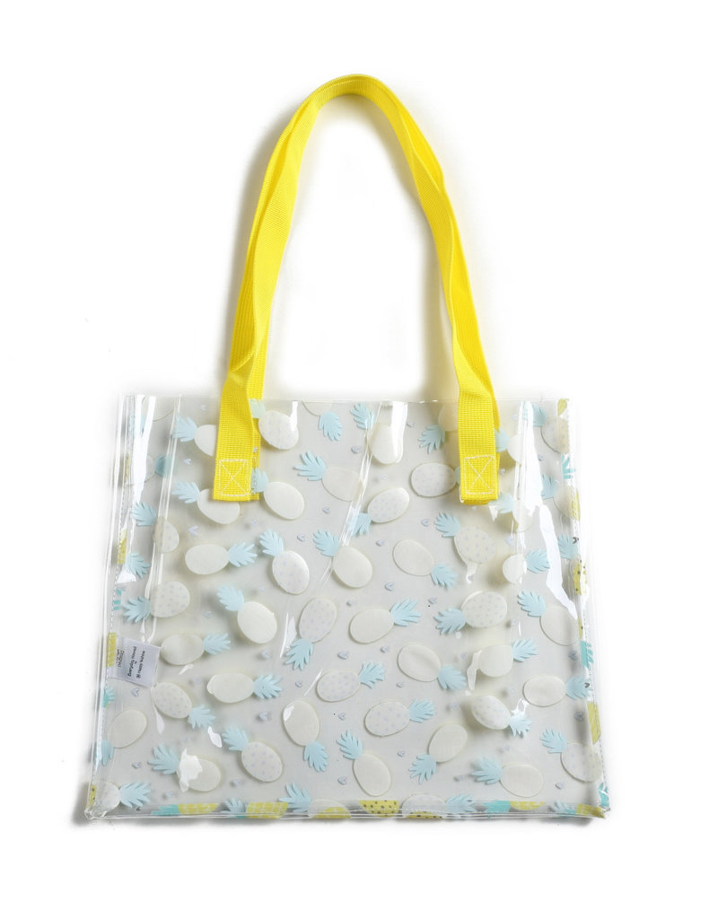 Everyday Hawaii EH Clear Tote Pineapple Yellow