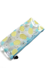 Everyday Hawaii EH Clear Pencil Case Pinepple Yellow