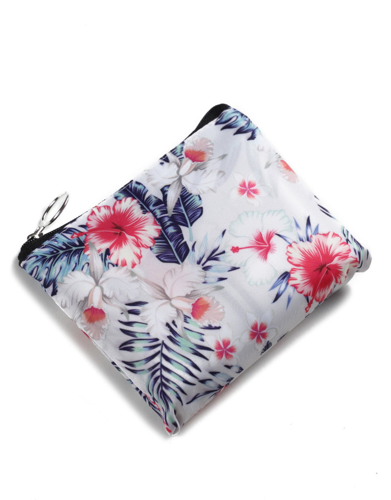 Everyday Hawaii EH Foldable Bag Hibiscus Beige