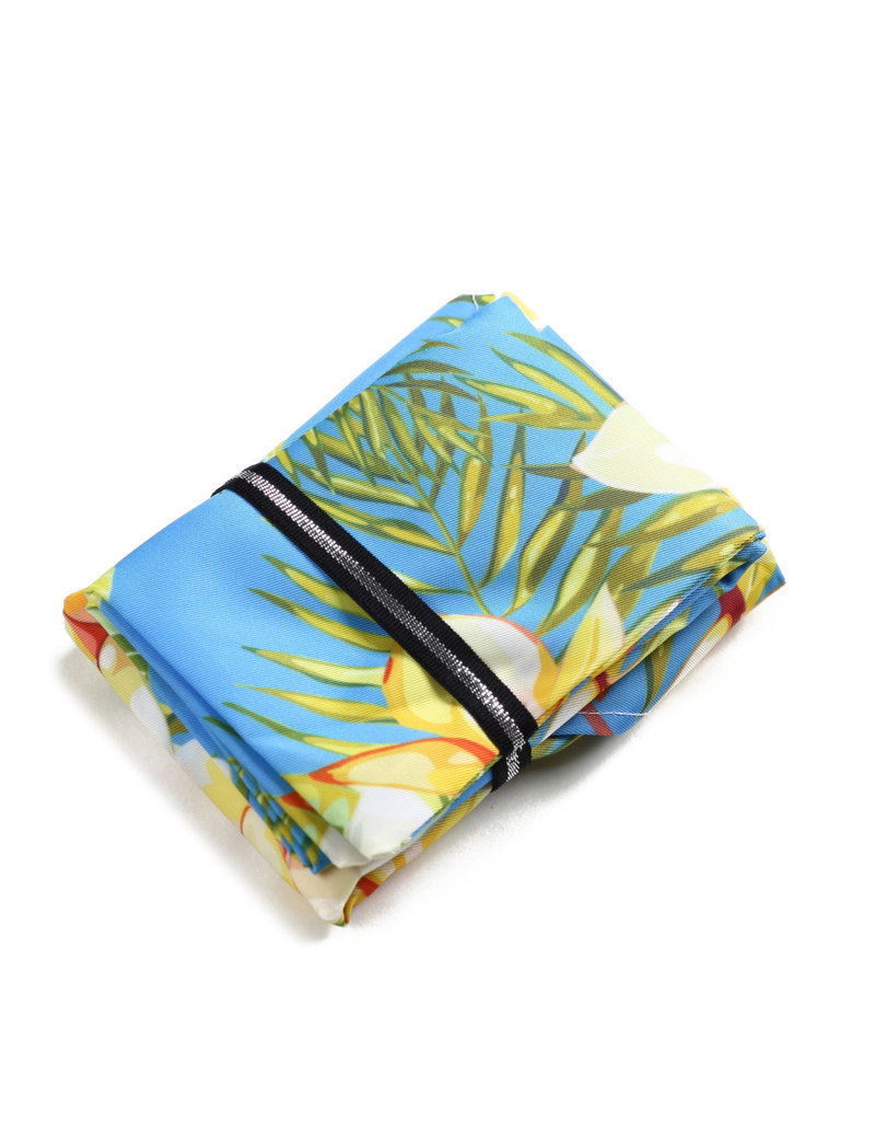 Everyday Hawaii EH Foldable Bag Plumeria Yellow