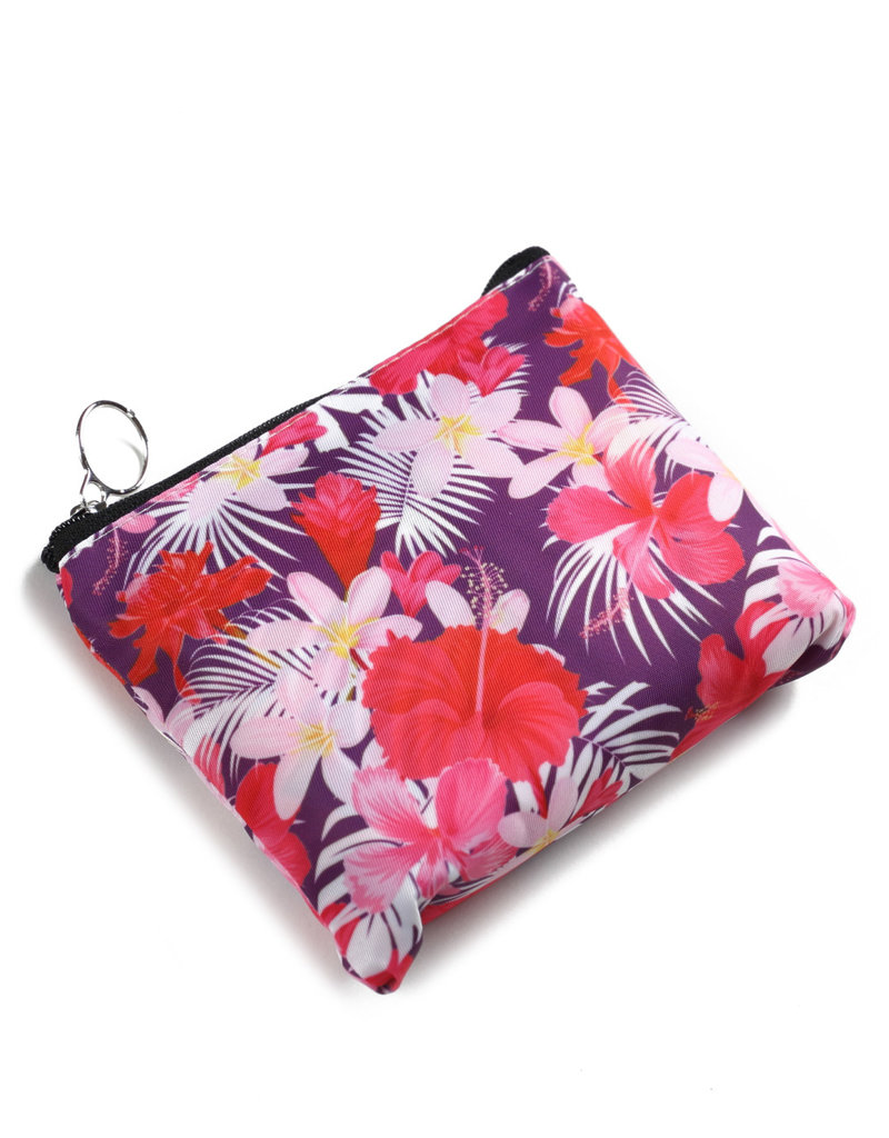 Everyday Hawaii EH Foldable Bag Hibiscus Pink