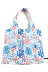 Everyday Hawaii EH Foldable Bag Monstera Lines Beige