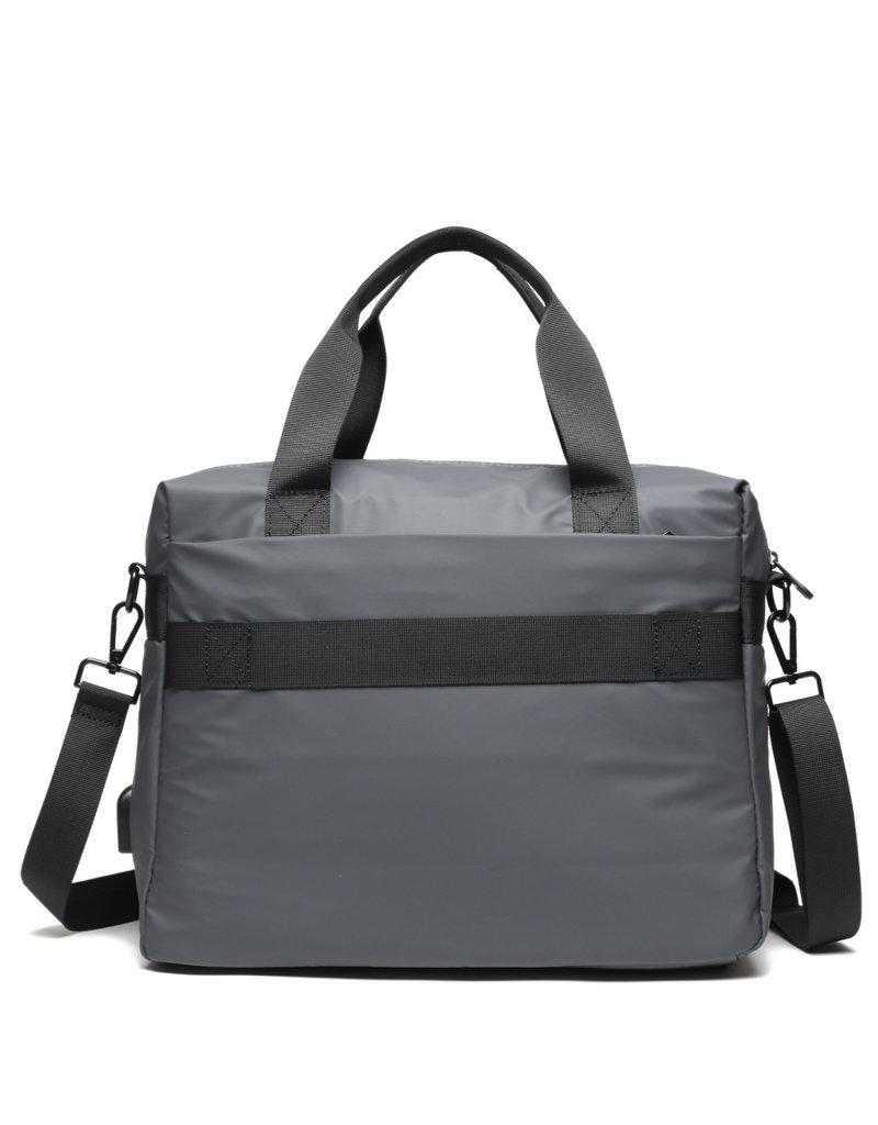 Ho'omau Ho'omau Computer Bag Tapa Grey