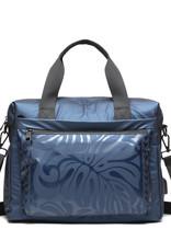 Ho'omau Ho'omau Computer Bag Monstera Blue
