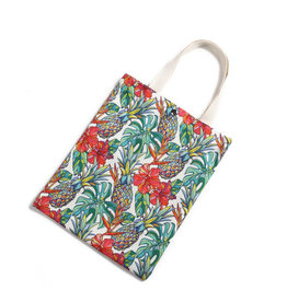 Everyday Hawaii EH Cotton Tote Sml Pineapple Beige
