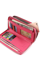 Happy Wahine Wallet Allison Tapa Pink