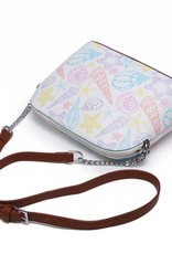 Happy Wahine Crossbody Lori Shells Orange