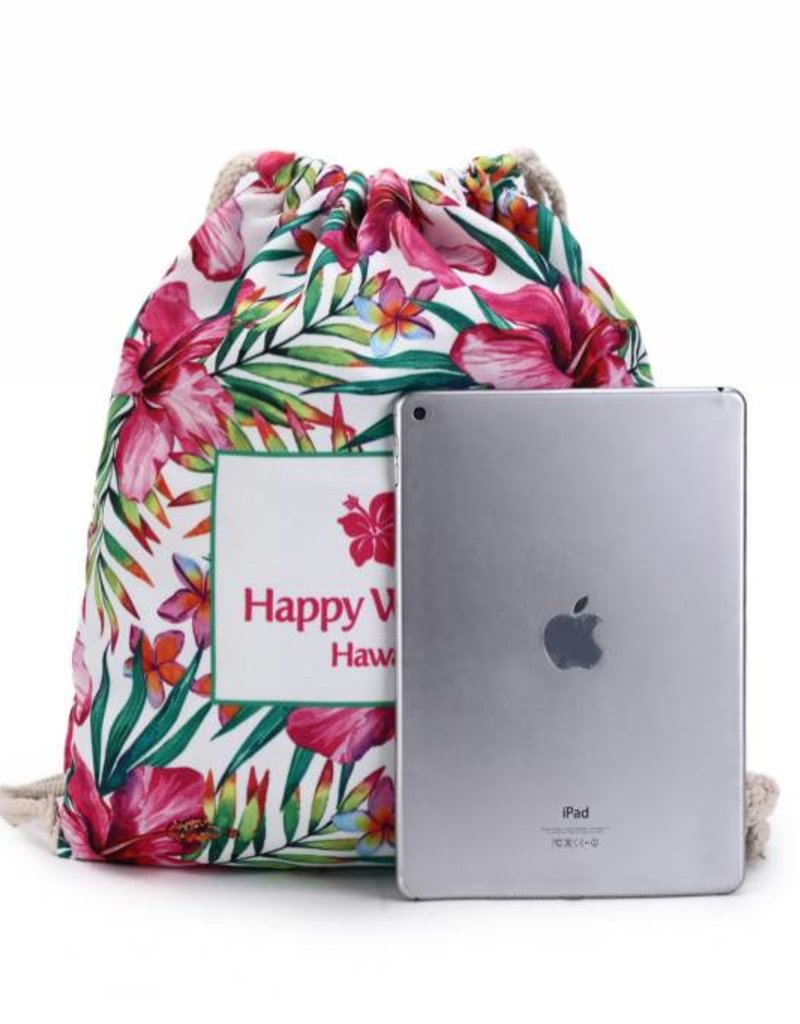 Everyday HI Backpack Watercolor Hibiscus
