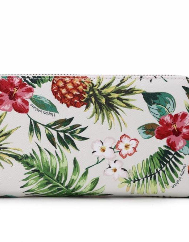 Wallet Kaylee Pineapple Vintage Beige