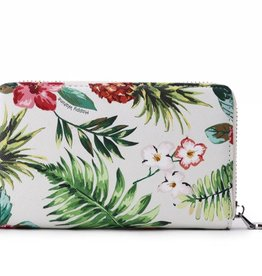 Happy Wahine Wallet Chloe Pineapple Vintage Beige