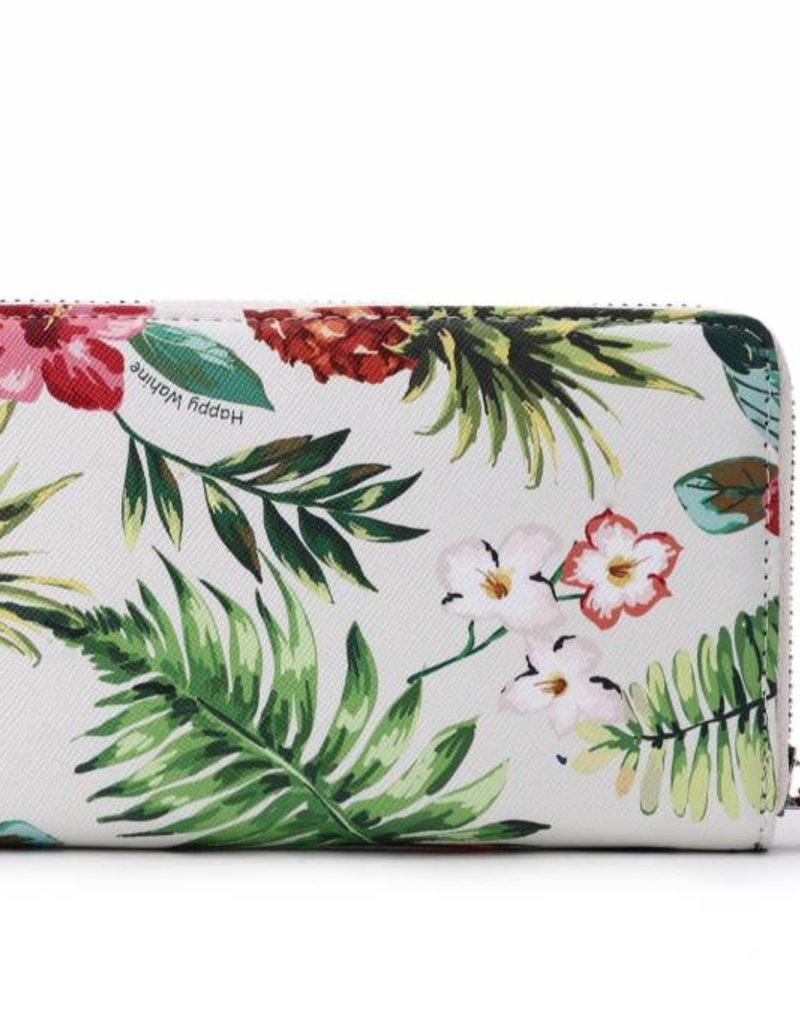 Happy Wahine Wallet Chloe Pineapple Vintage Beige