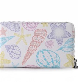 Happy Wahine Wallet Chloe Shells Orange