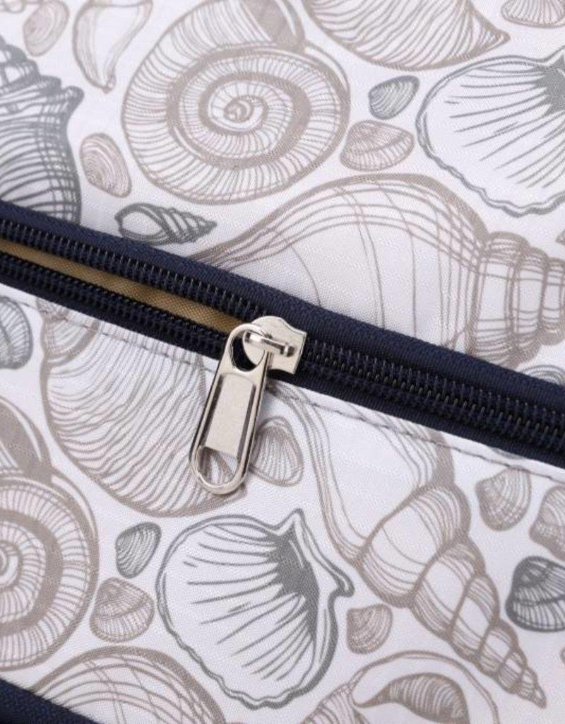 Nylon Amber Crossbody Seashell Grey