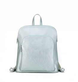 Backpack Sasha Monstera Orchid Green