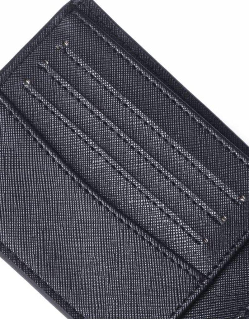 Wallet Alex Tapa Tiare Black Embossed