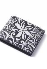 Happy Wahine Wallet Alex Tapa Tiare Black