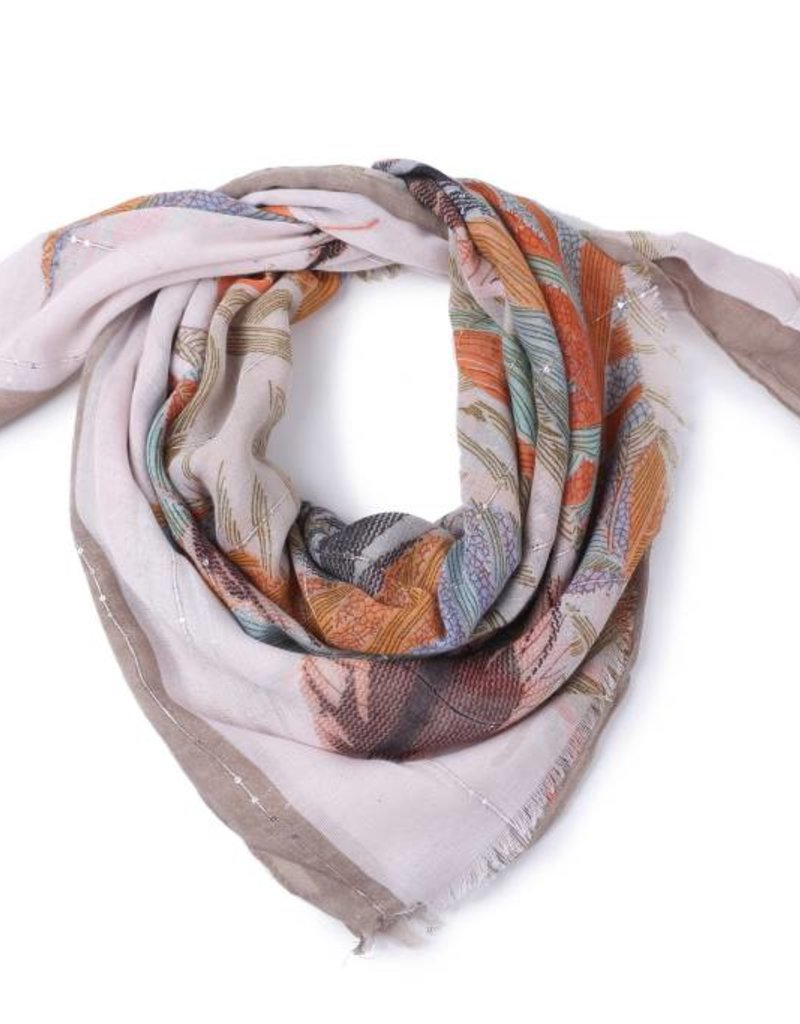 Happy Wahine Scarf Danielle Forest Brown