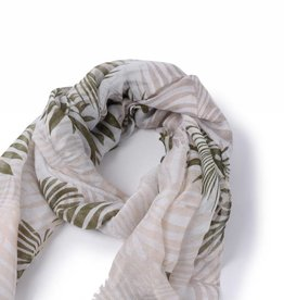 Happy Wahine Scarf Danielle Palmleaf Green