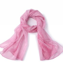 Happy Wahine Scarf Danielle Waves Pink