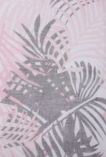 Happy Wahine Scarf Danielle Palmleaf Pink