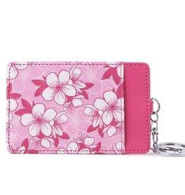 Card Case April Hibiscus Pink