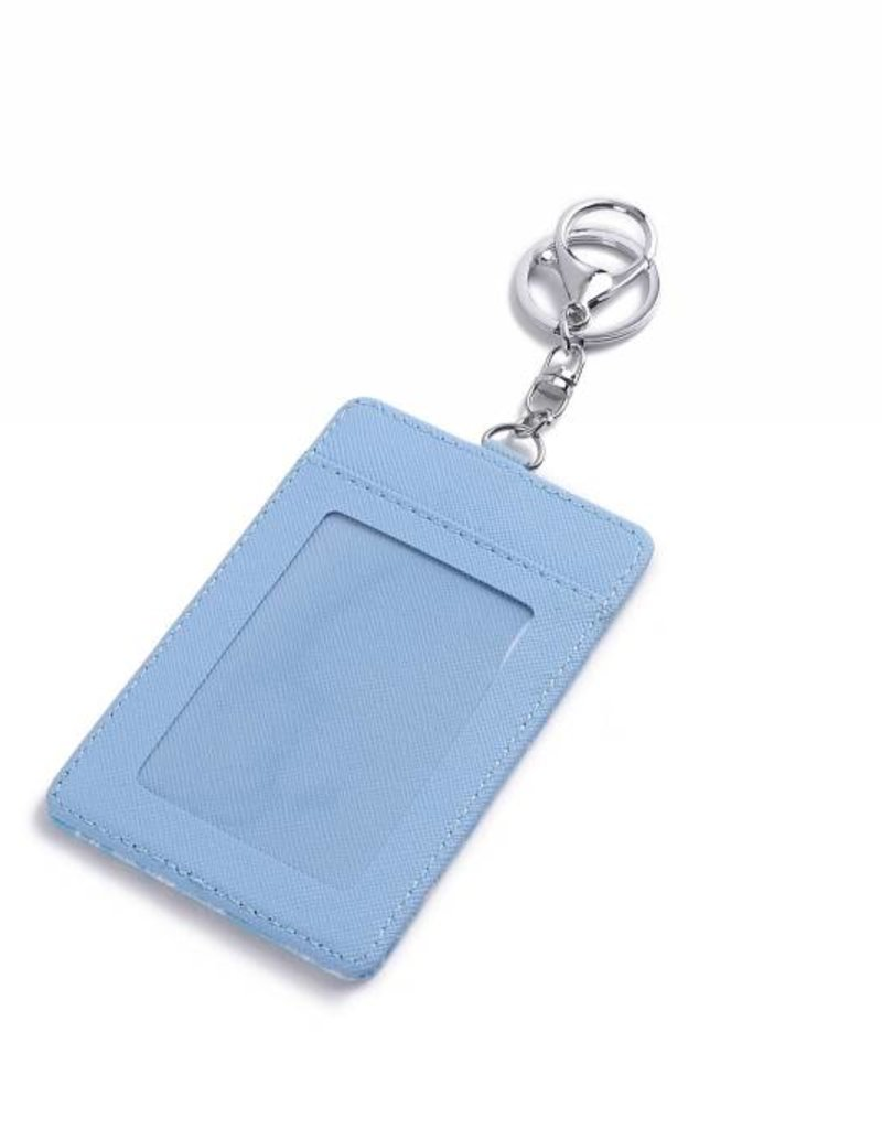 Card Case April Seahorse Shell Blue